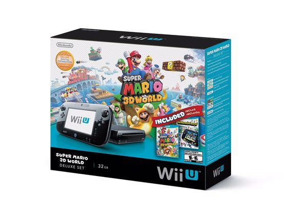 Wii U Deluxe 32GB and Nintendo DS Bundle