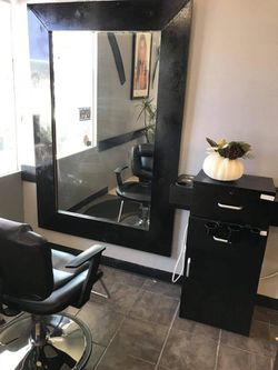 Beauty Salon Equipment. Chair, Mirror, Stations  for Sale in Montclair, CA
