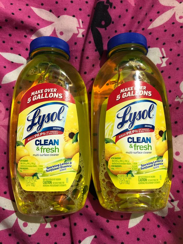 Lysol concentrate