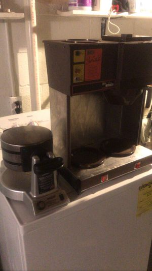 Double waffle maker and coffee maker great for a food truck for Sale in Cleveland, OH