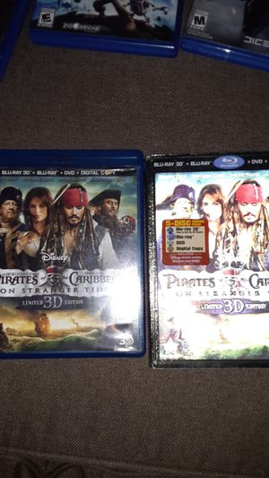 Pirates of the Caribbean (on stranger tides) limited 3d edition for Sale in San Dimas, CA