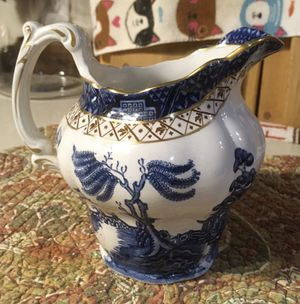 Booths Blue Willow Pitcher for Sale in Saucier, MS