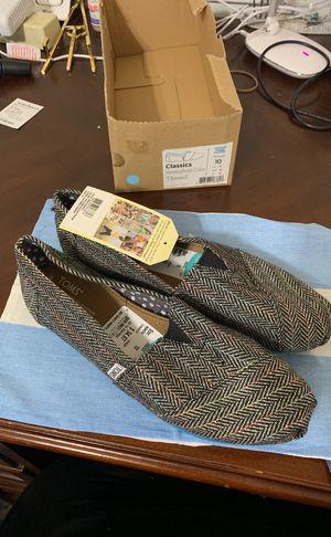 Brand new Herringbone Women's Toms Shoes for Sale in Manassas, VA