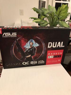 ASUS Radeon RX 580 8GB Dual- Fan OC Edition for Sale in Rockville, MD
