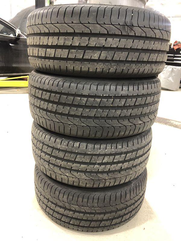 Pirelli pzero tires 235/35/19