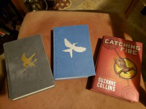 First edition hunger games trilogy for Sale in Parkersburg, WV