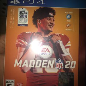 Madden 20 Ps4 for Sale in West Covina, CA