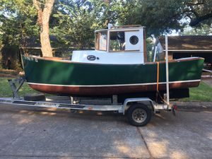 Custom built wood tug boat $25,000 for Sale in Sugar Land, TX