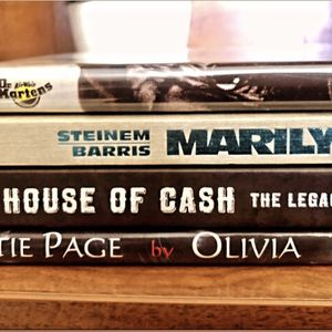 Set Of Four Books (Johnny Cash, Bettie Page, Dr. Martens, Marilyn Monroe for Sale in San Fernando, CA