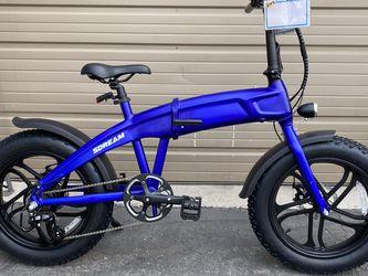 SDREAM X750 - 750 Watts Fat Tire Folding Aluminum Electric Bike in 4 Colors - Brand New for Sale in Walnut,  CA