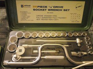 26 piece socket set for Sale in Edgewood, WA