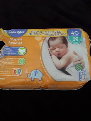 Newborn diapers for Sale in Riverside, CA
