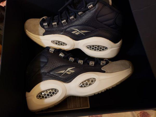 Allen Iverson Georgetown sneakers sz 7