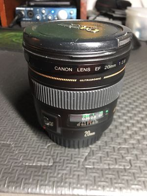Canon 20mm f2.8 prime lens for Sale in Pittsburgh, PA