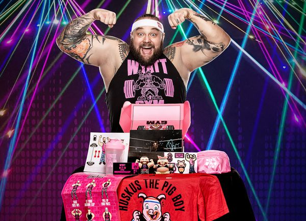 WWE Wyatt Gym Collectors Box- only 1000 made