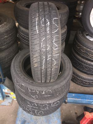 Used set of tires 195 65 15 for Sale in Nashville, TN