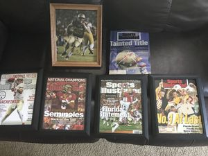 FSU collectibles. Sold Separately. for Sale in Tallahassee, FL