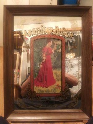 Beer mirror red dress waitress for Sale in Kaleva, MI
