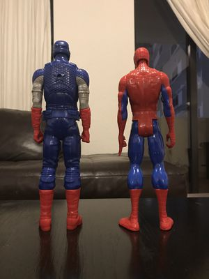 Spiderman and Captain America (MARVEL) for Sale in Miami Beach, FL