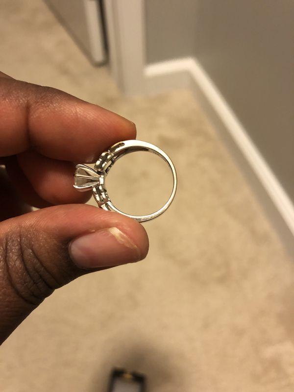 Diamond engagement/ wedding ring.