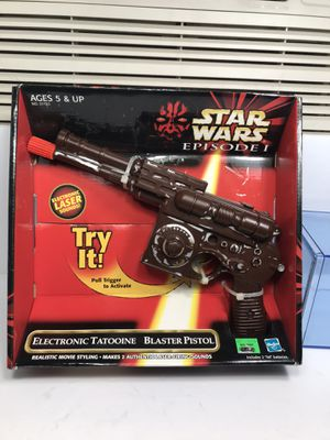 Star Wars vintage toys BLASTER PISTOL for Sale in Chicago, IL