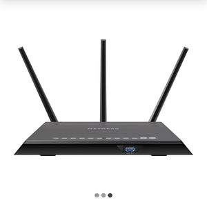 NETGEAR Nighthawk R7000-100NAS Dual Band Wireless and Ethernet Router, Black for Sale in Aurora, IL