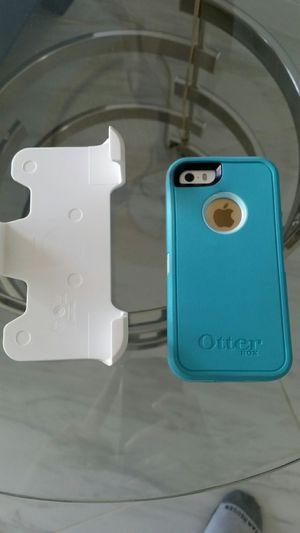 Brand new iPhone SE simplemobile + otter case for Sale in Miami, FL