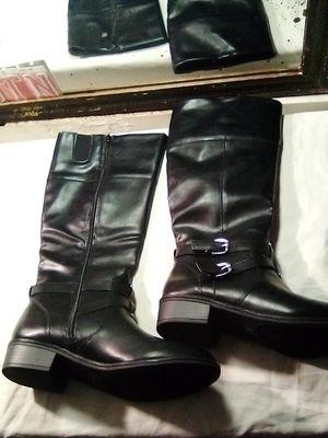 Arizona Black leather boots for Sale in San Jose, CA