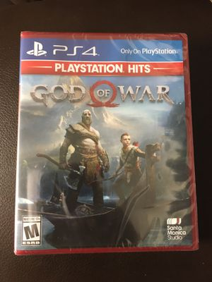 God of War PS4 Brand New Sealed for Sale in Parma Heights, OH