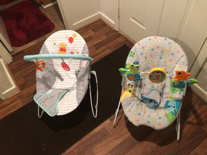 Baby diapers and baby chairs for Sale in Virginia Beach, VA