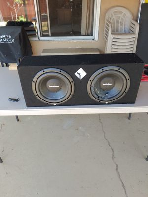 2 10in Subwoofer Box for Sale in San Diego, CA
