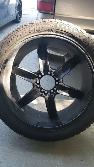 Rims and tire for Sale in Fresno, CA