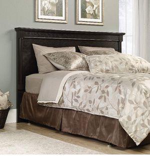 King bed - dark oak finish for Sale in Lexington, SC