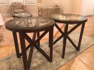 Coffee Table with 2 end tables for Sale in Mount Vernon, VA