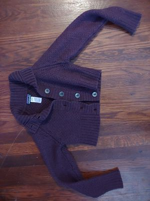 Maroon cropped patagonia sweater for Sale in Dublin, OH