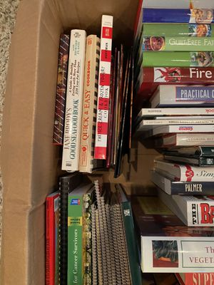 Big box of cookbooks for Sale in McKinney, TX
