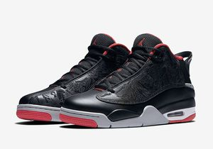 Nike Air Jordan Dub Zero Bred Black Gym Red 311046 013 Sz 12 for Sale in Rockville, MD