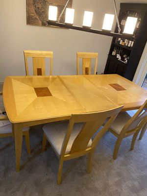Dining Table with 6 Matching Chairs for Sale in Seattle, WA