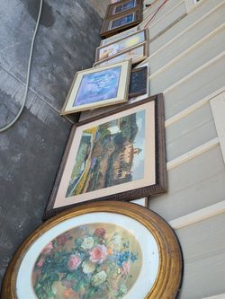 Framed Art, Paintings- FREE for Sale in Washougal,  WA