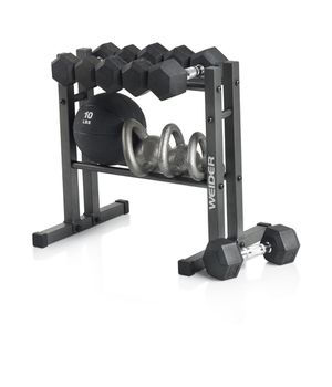 Weider Two Tier Weight Rack Weight Storage for Sale in West Covina, CA