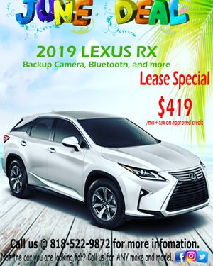2019 Lexus RX 350 lease special for Sale in Los Angeles, CA