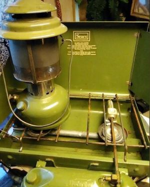Vintage Sears Coleman Lantern and Camping Stove for Sale in Orlando, FL