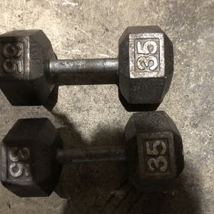 35 Pound Dumbbells for Sale in Bellevue, WA