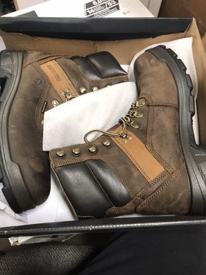 Wolverine Men's Cabor Waterproof 6'' Work Boots - Composite Toe - Brown Size 9.5(M) for Sale in Temple City, CA