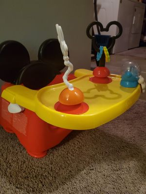 Baby Mickey mouse table high chair / chair for Sale in Arvada, CO