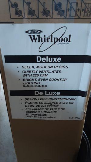 New Whirlpool range hood for Sale in Tacoma, WA