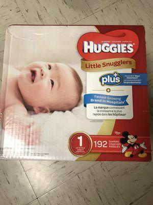 Huggies size 1 for Sale in Lafayette, LA