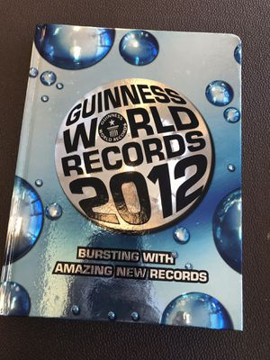World Record, Ripley's Believe It Or Not, Etc for Sale in Gainesville, GA