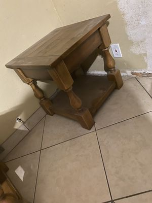 Real wood living room tables for Sale in Tempe, AZ