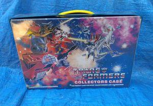1984 Transformers Action Figure Robots Collectors Case G1 Vintage Collectible for Sale in Pasadena, CA